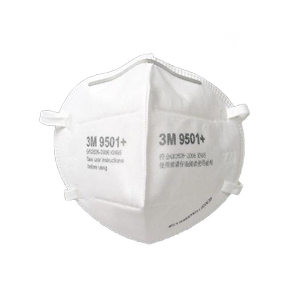 3M 9501+ Respirator ear loop package of 10
