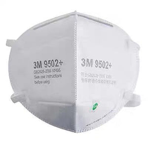 3M 9502+ KN95 Respirator Headband package of 50