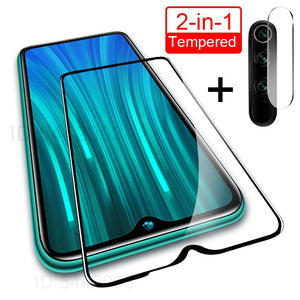 2 in 1 Camera Lens Tempered Glass
