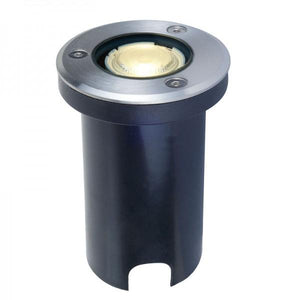 LAMPARA LED EMPOTRABLE PISO EXTERIOR CALUX 1W ACERO INOXIDABLE 3000K