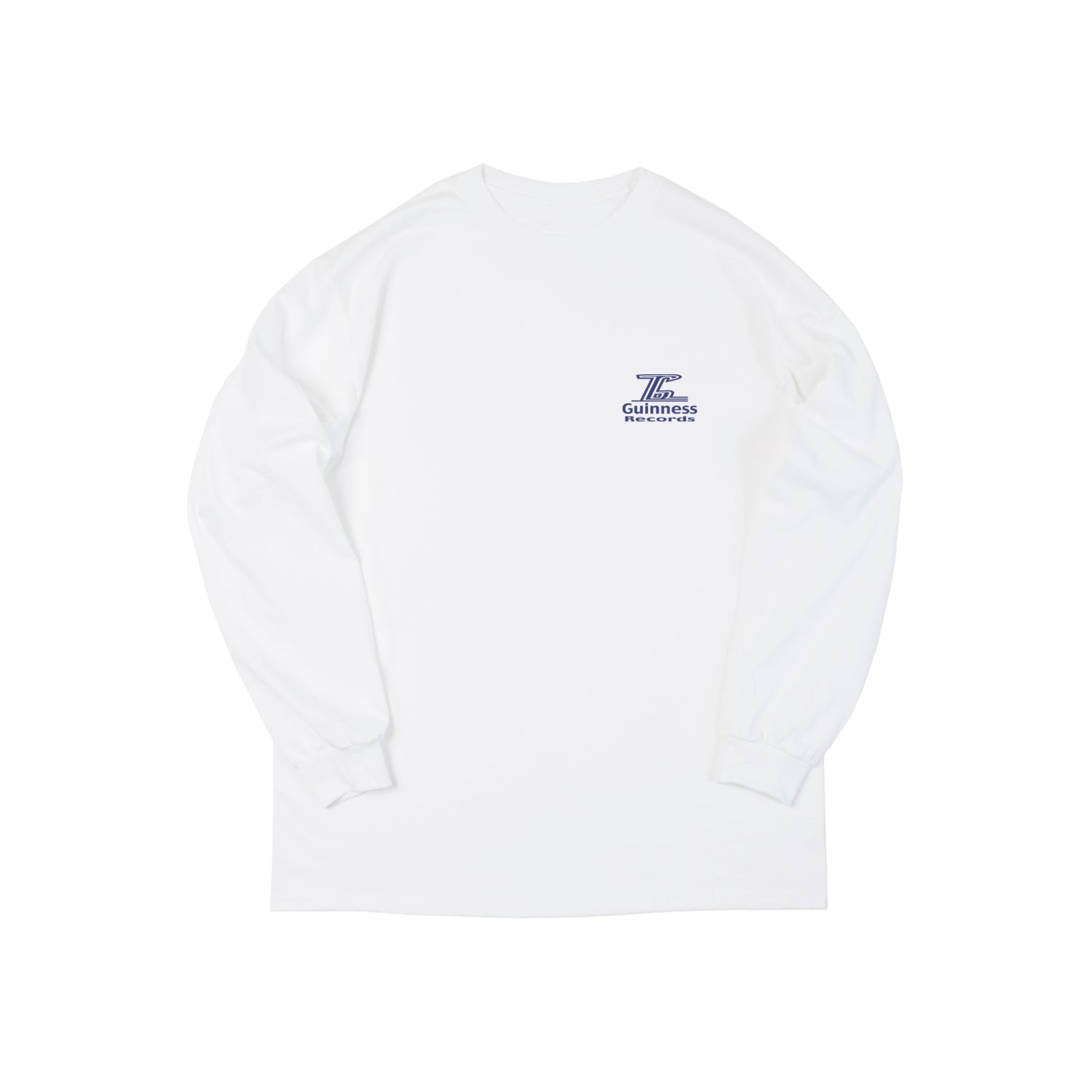 Guinness Recs. Long Sleeve - White