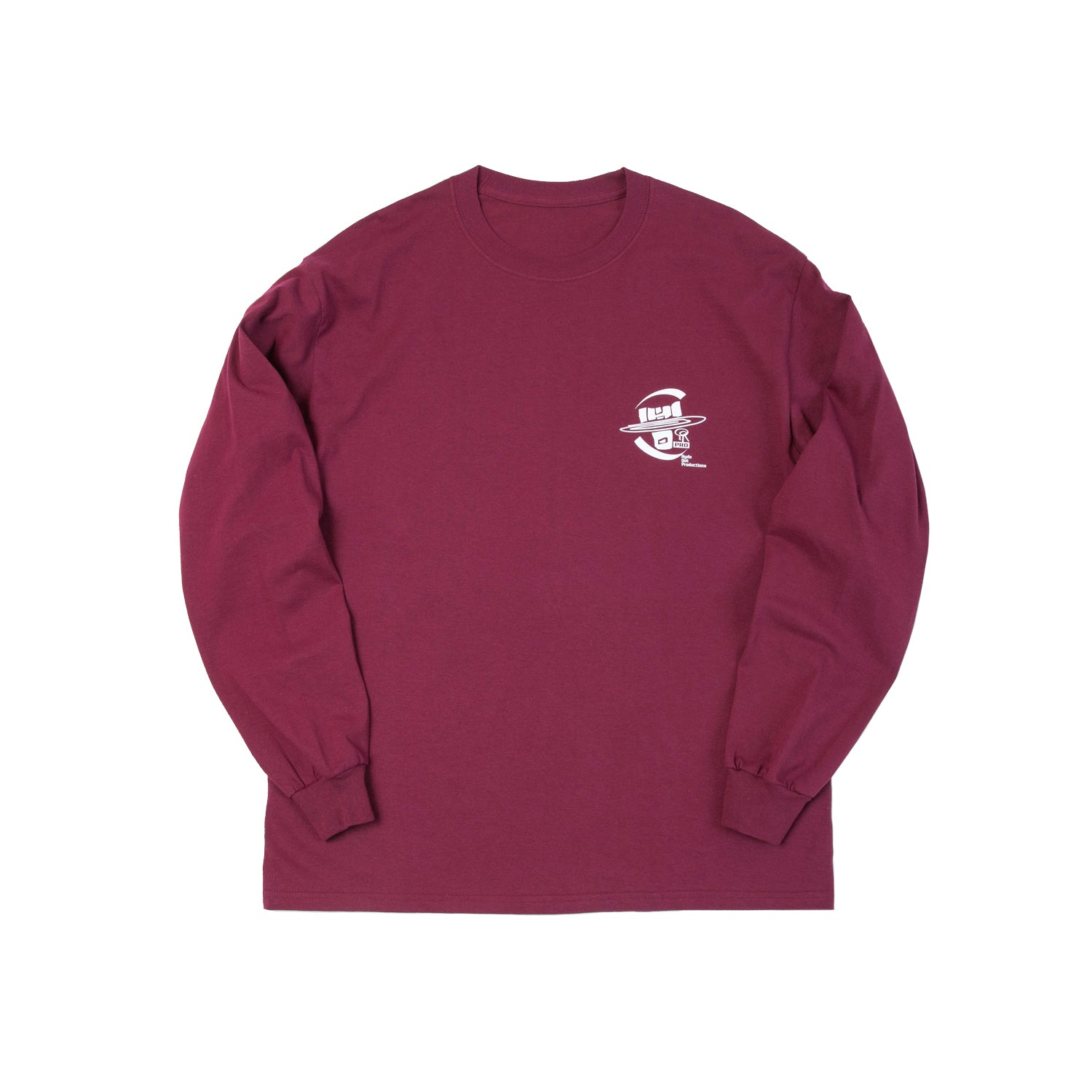 Hydeout Dimension Ball Long Sleeve - Burgundy