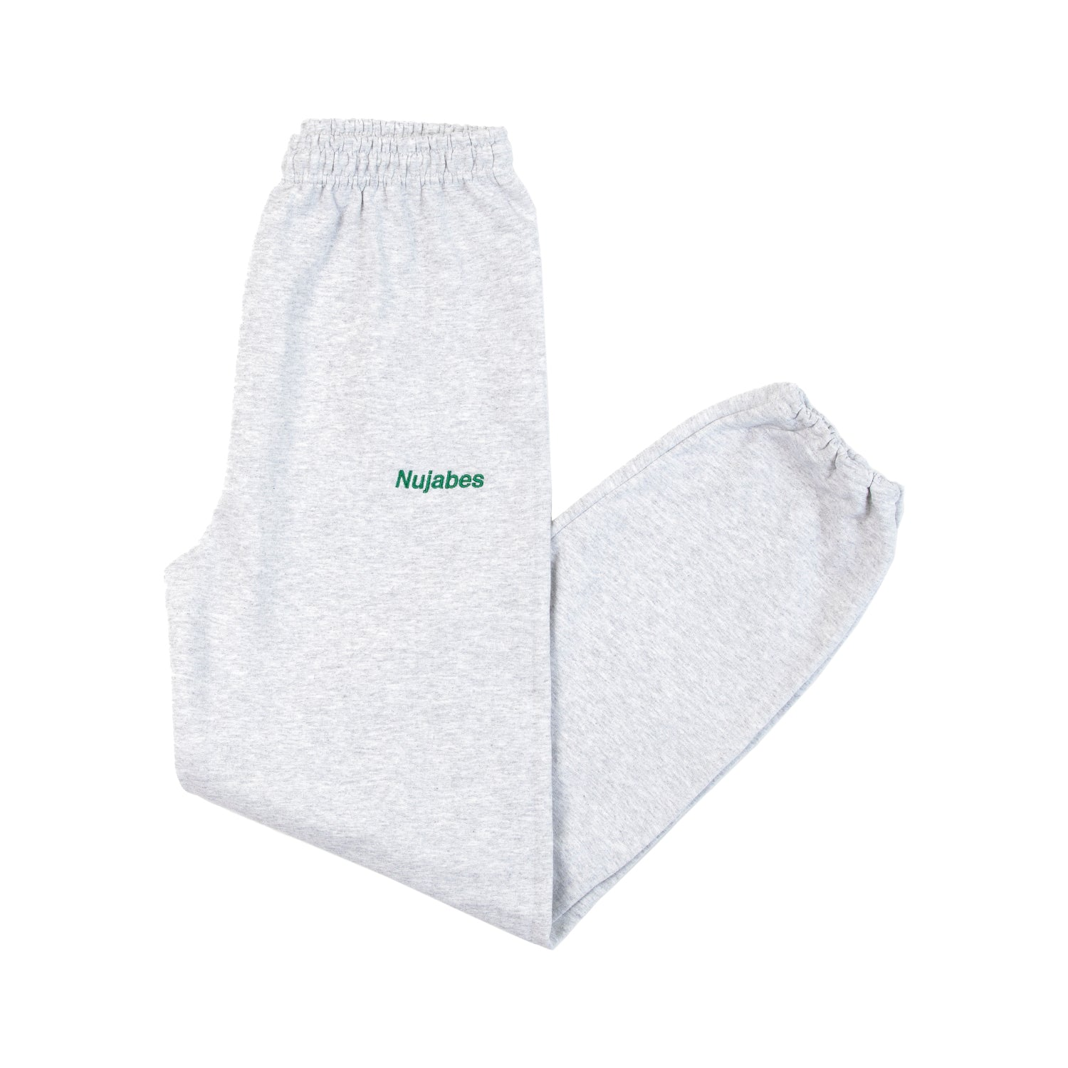 Nujabes Small Logo Room Pants - Heather Gray