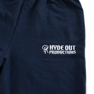 Hydeout Small Logo Room Pants - Navy