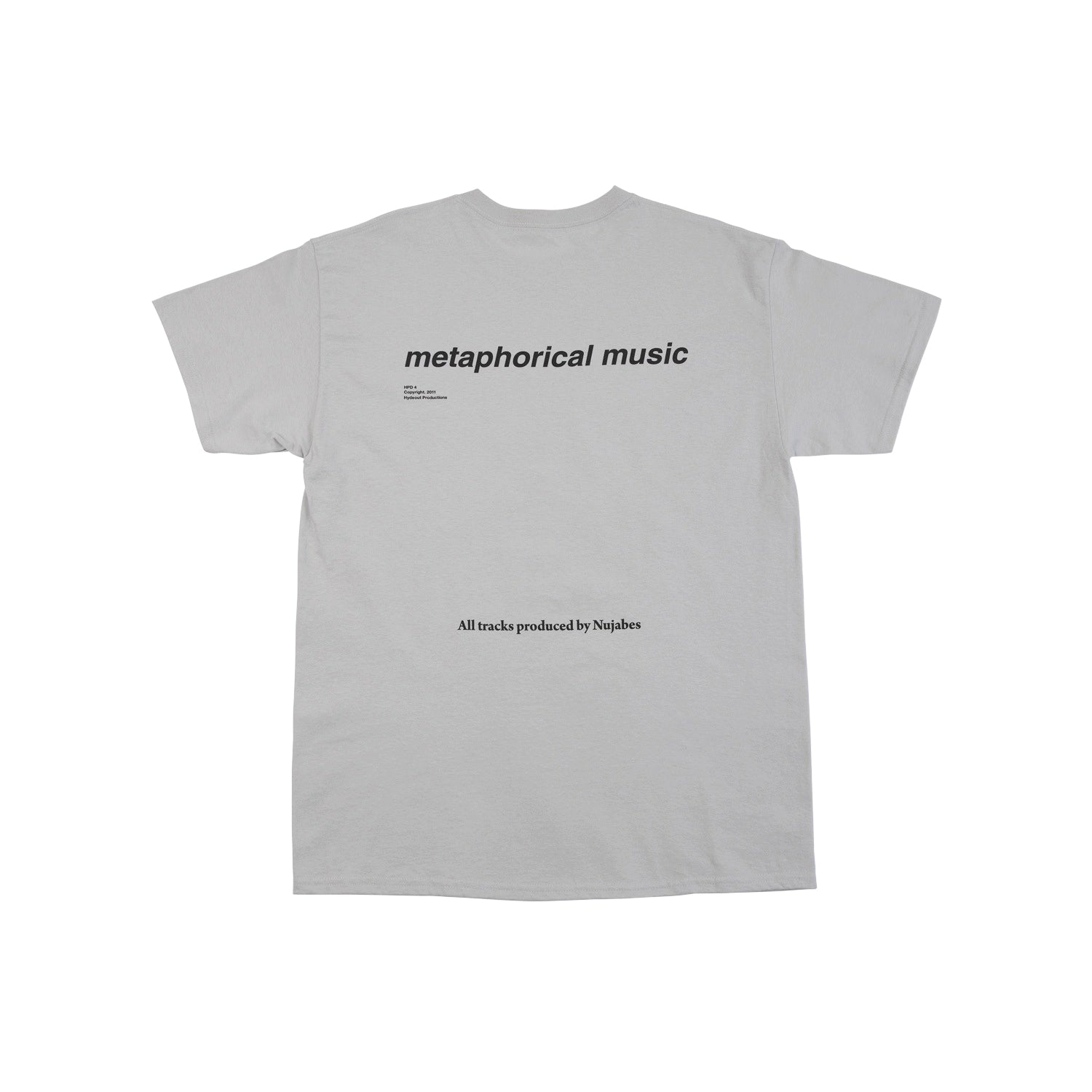 Nujabes Tee - Ice Gray