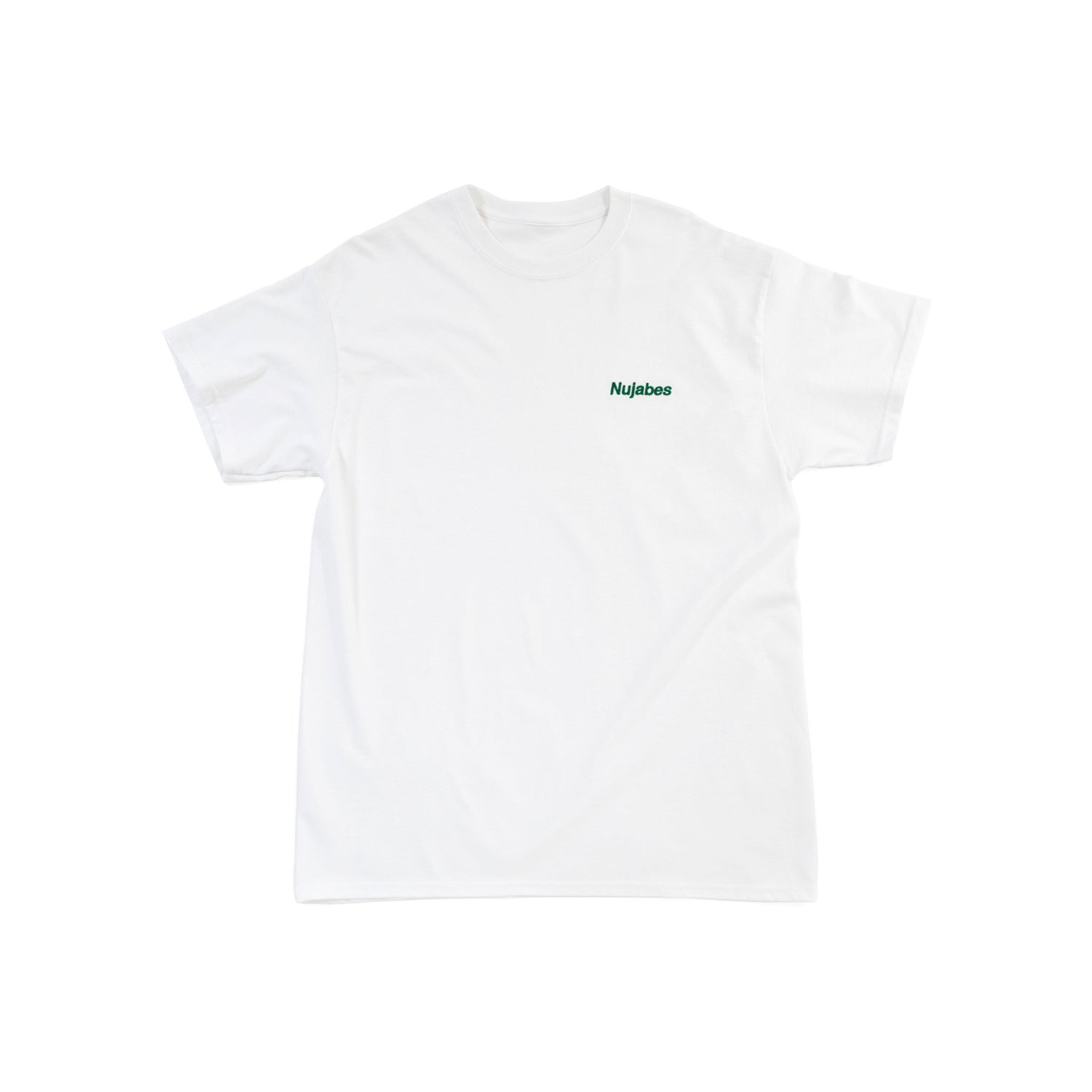 Nujabes Small Logo Tee - White