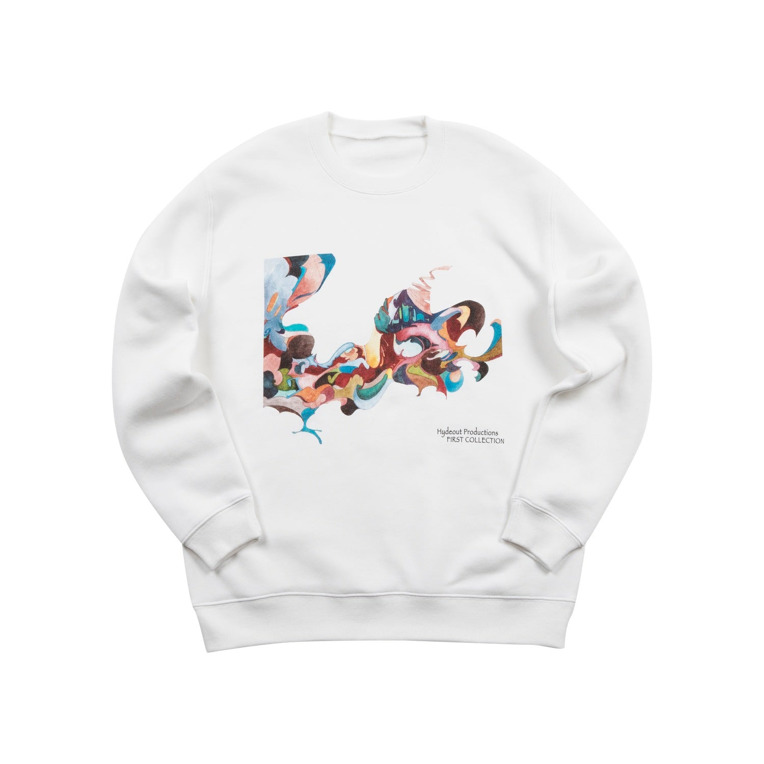 First Collection Cover Crewneck - White