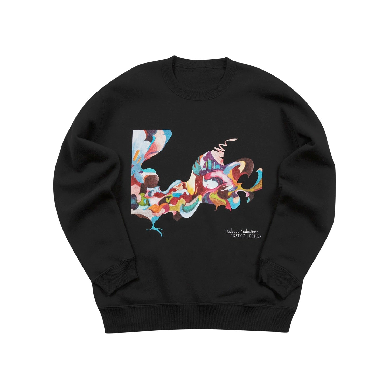 First Collection Cover Crewneck - Black
