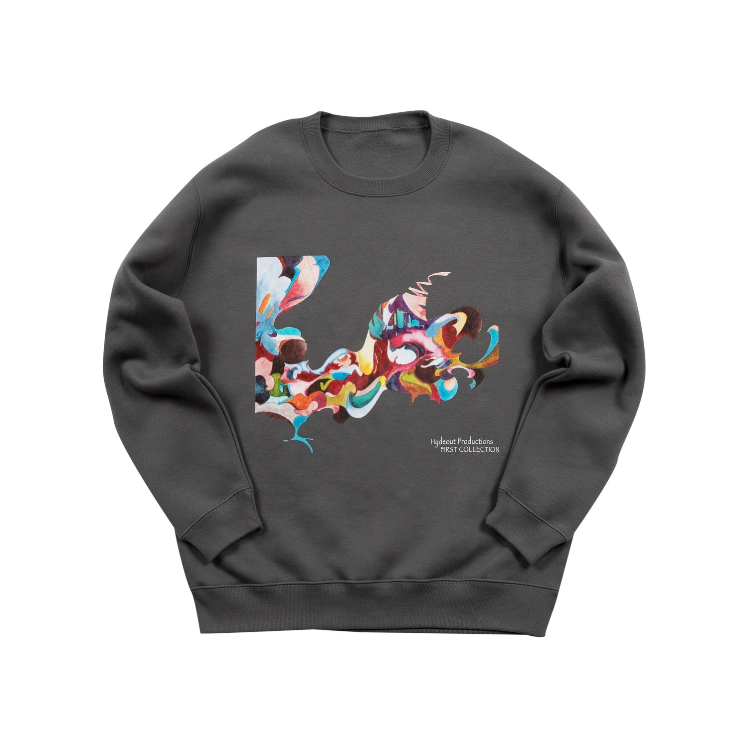 First Collection Cover Crewneck - Charcoal Gray