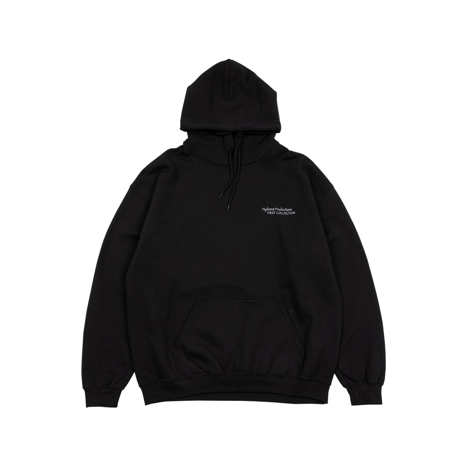 First Collection Cover Hoodie - Black
