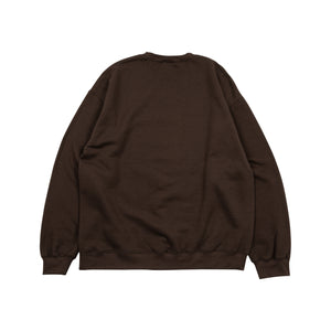 Hydeout Dimension Ball Crewneck -Dark Chocolate