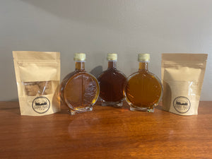 Glass packaging maple sample/gift package (w/ free shipping)