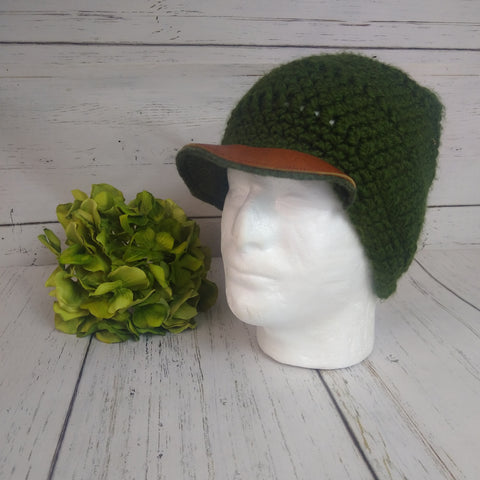 Men's Hat- Forest Green