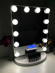 Hollywood Vivid Bluetooth Mirror
