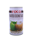 FOCO Roasted Coconut Juice With Pulp 350ML Can