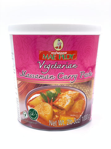 Mae Ploy Vegetarian Massaman Curry Paste 1KG