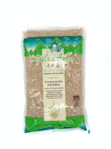 Little Angel Jasmine Brown Rice 1KG Bag