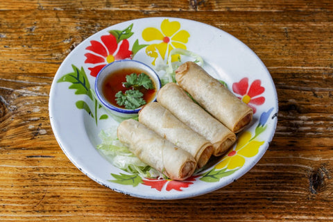 Chicken Spring roll poh pia chicken