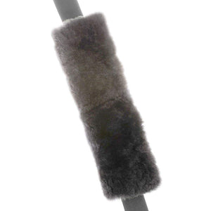 Allison 54-1297 Sheepskin Seat Belt Comforter - Gray