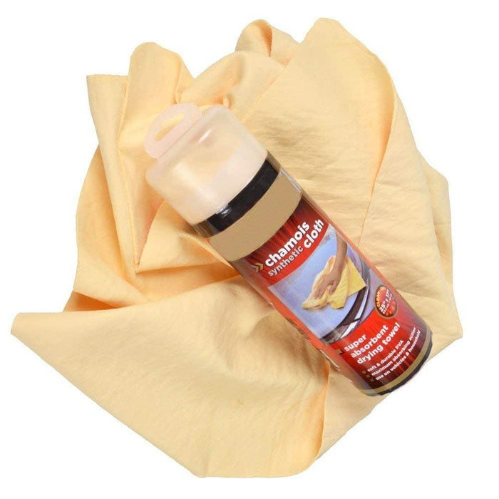 Unique Imports Super Absorb & Dry Synthetic Chamois Reusable Cleaning Drying Cloth Soft & Durable PVA