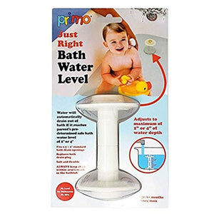 Safe Bath Time Children Baby Toddler Fill Tub to Perfect Water Level Every Time, BPA Free - Helps Prevents Drowning