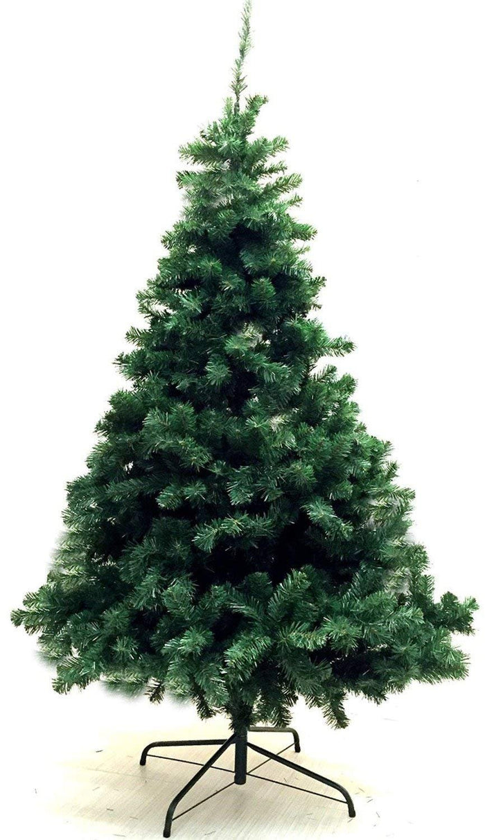Unique Imports Xmas Finest 6' Feet Super Premium Artificial Christmas Pine Tree with Solid Metal Legs - Fullest (800 Tips) Six Foot Tall Design