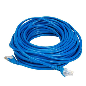 Boostwaves 50ft Cat5e Wired Internet LAN Patch Cable - RJ45 Networking Cable
