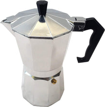 Load image into Gallery viewer, Italian Style 6 Cup Stove Top Espresso Coffee Maker