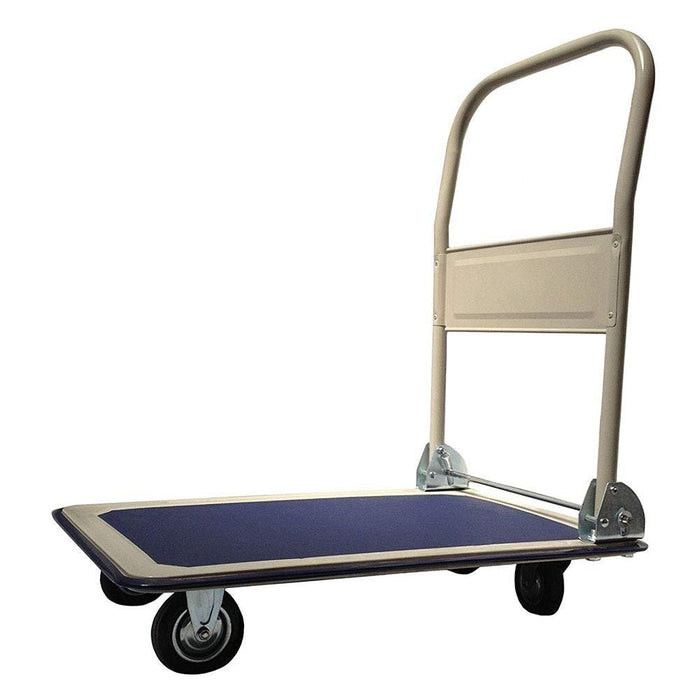 UPT Platform Truck Hand Cart - Folding Collapsible Warehouse Dolly - 330 Lbs Capacity