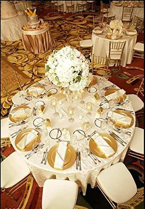 Round Charger Dinner Plates, Gold 13 inch, Set of 1,2,4,6, or 12
