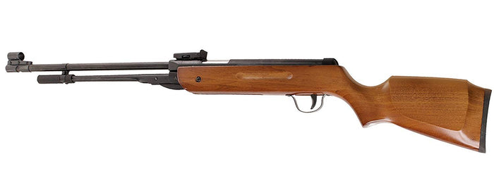 Power Air Rifle Pellet Gun .22 5.5mm Caliber Geniune Real Walnut Wood Shooting Hunting Sport Seasonal