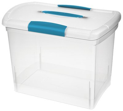 Sterilite 18768606 Large Clear ShowOffs Storage Container