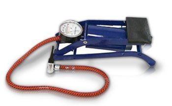 Foot Pump with Pressure Gauge- The Sports Ball Inflation Pump