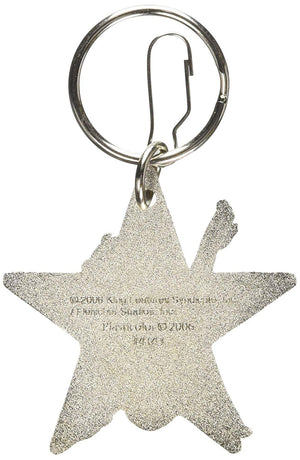 Plasticolor Betty Boop Star Enamel Key Chain