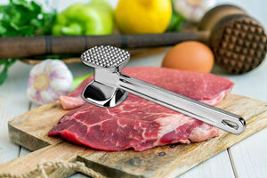 Two-Sided Meat Tenderizer Cast Aluminum