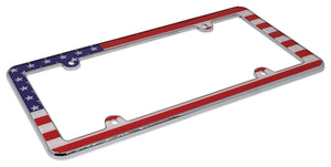 Cruiser Accessories 23003 USA Flag, Chrome