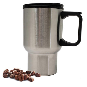 LavoHome 16 oz Stainless Steel Coffee Travel Mug BPA Free-Fits Most Auto Drink Holders,Slip Resistant