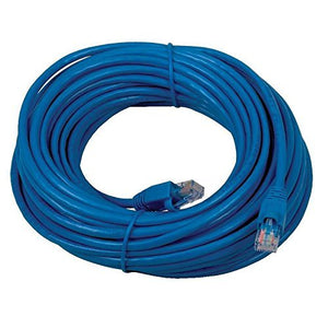 Boostwaves 25ft Cat5e Wired Internet LAN Patch Cable - RJ45 Networking Cable