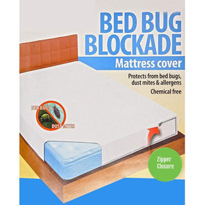 Unique Imports Royal Bed Bug 100% Hypoallergenic Mattress Cover With Zipper Enclosure -SOFT QUIET & COMFY. GUARANTEED TO WORK (King)