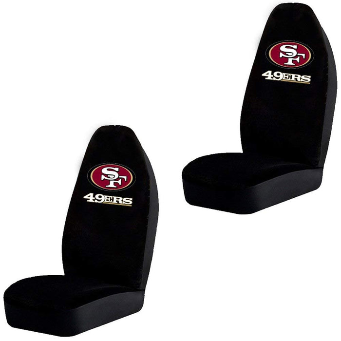 Bucket Seat Covers - NFL Football - San Francisco 49ers - Pair