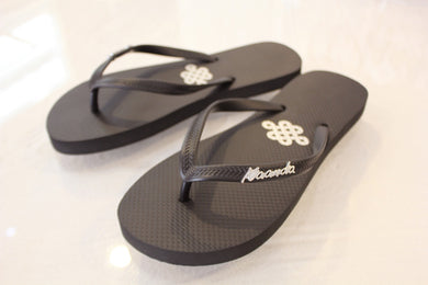 FlipFlop Kaanda svart - Resort Collection - www.kaandabeachlife.se