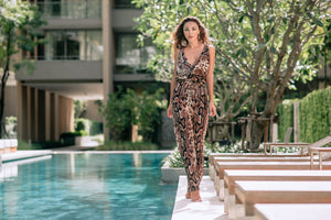 Stella Snake Jumpsuit - Resort Collection - www.kaandabeachlife.se