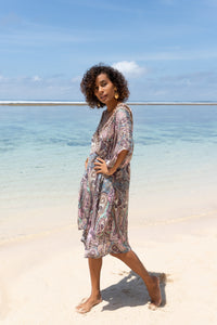 Maroon Bay Kort Kaftan - Resort Collection