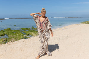 Paros Lång Kaftan - Resort Collection