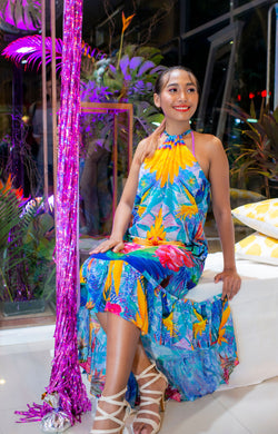 Robe à col montant Andressa - Collection Resort