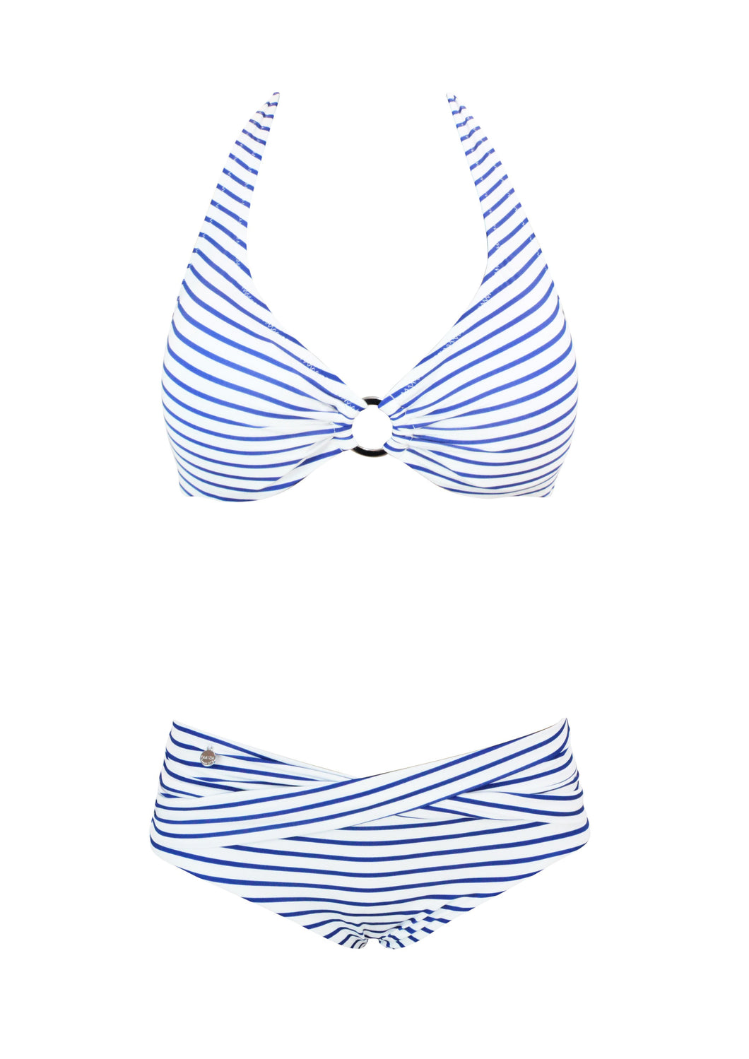 Maritima Striped Bygel Halter Bikini