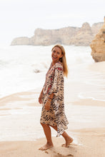 Load image into Gallery viewer, Paros Short Kaftan - Resort Collection