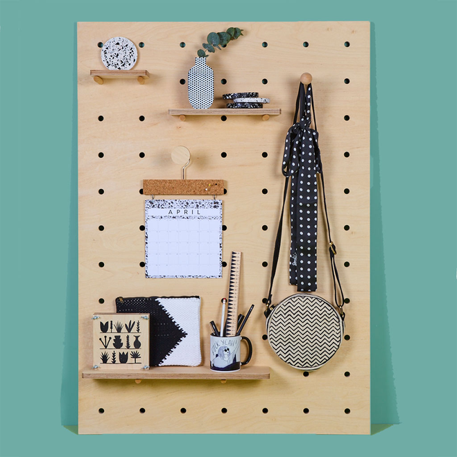 Wooden Pegboards