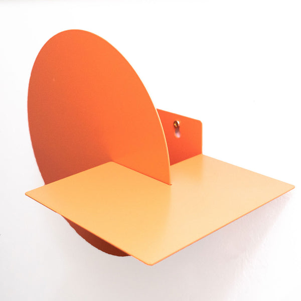 Arc Wall Pocket | Coral Orange