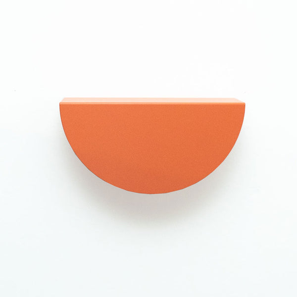 Arc Shelf | Coral Orange